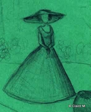 Claire dessin 2 demoiselle