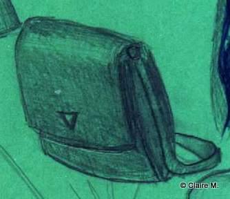 Claire dessin 3 sac